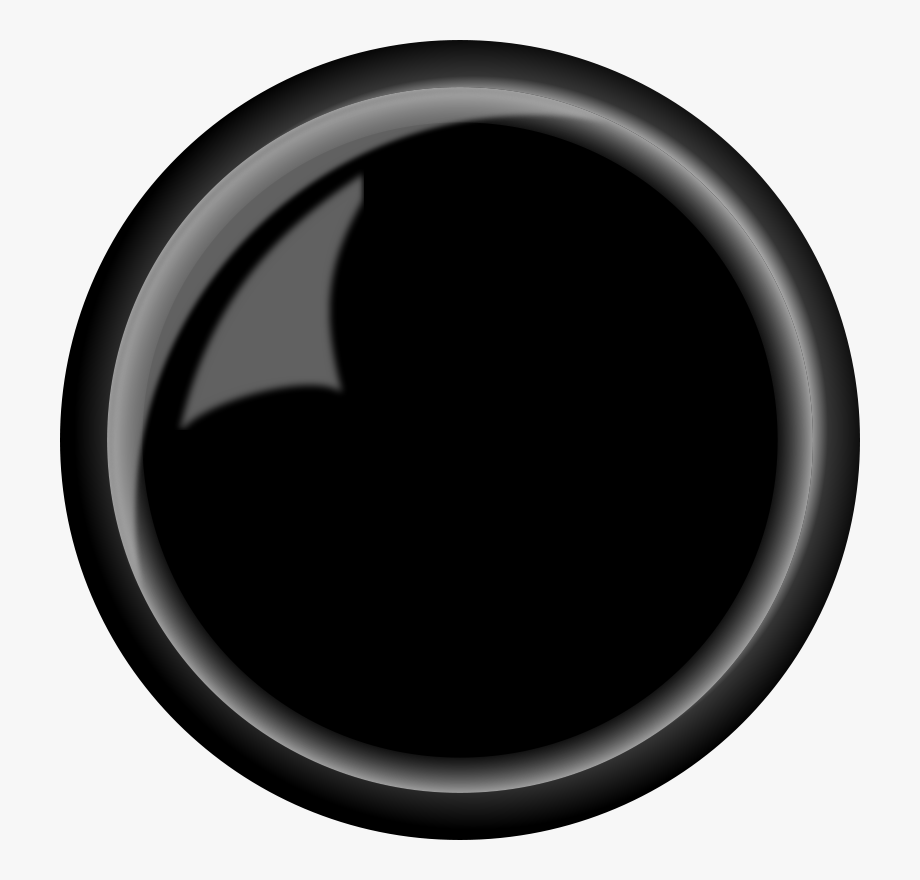 Clip Art Black Button , Transparent Cartoon, Free Cliparts.