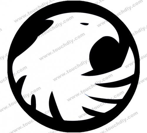 Black Canary Logo.