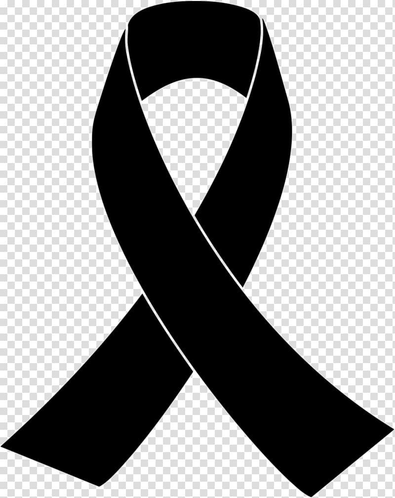 Black awareness icon illustration, Red ribbon Pink ribbon.