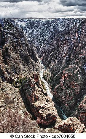 Pictures of Black Canyon of the Gunnison Park in Colorado.