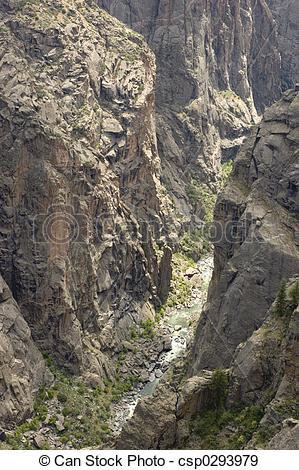 Stock Photographs of black canyon.