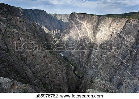 Stock Photo of Black Canyon u85976762.