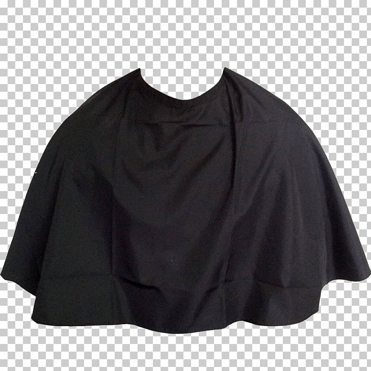 Black Cape, black capelet PNG clipart.
