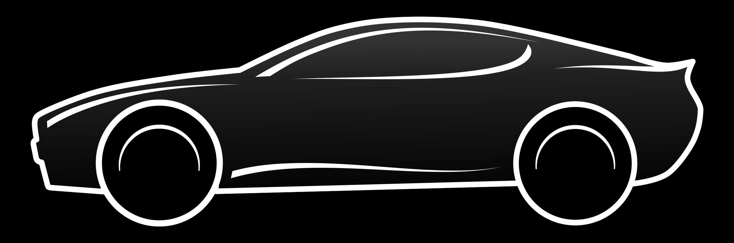 Car black free black and white car clip art file.