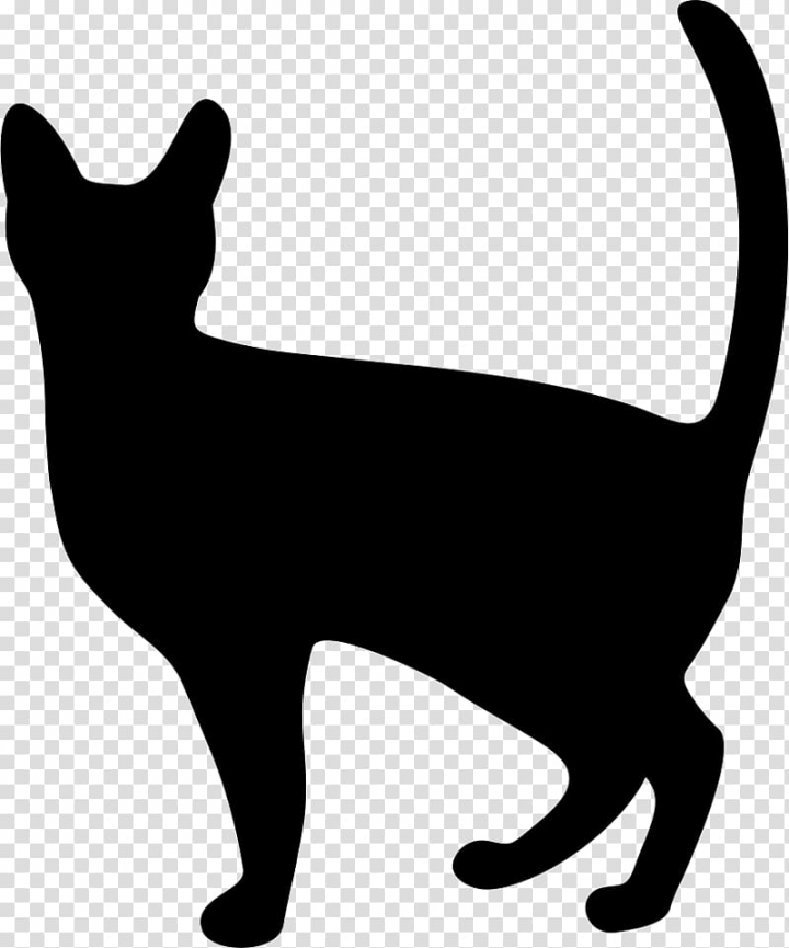 Black cat Dog Icon design, Cat transparent background PNG.