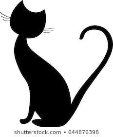 Black cat clipart black and white 3 » Clipart Portal.