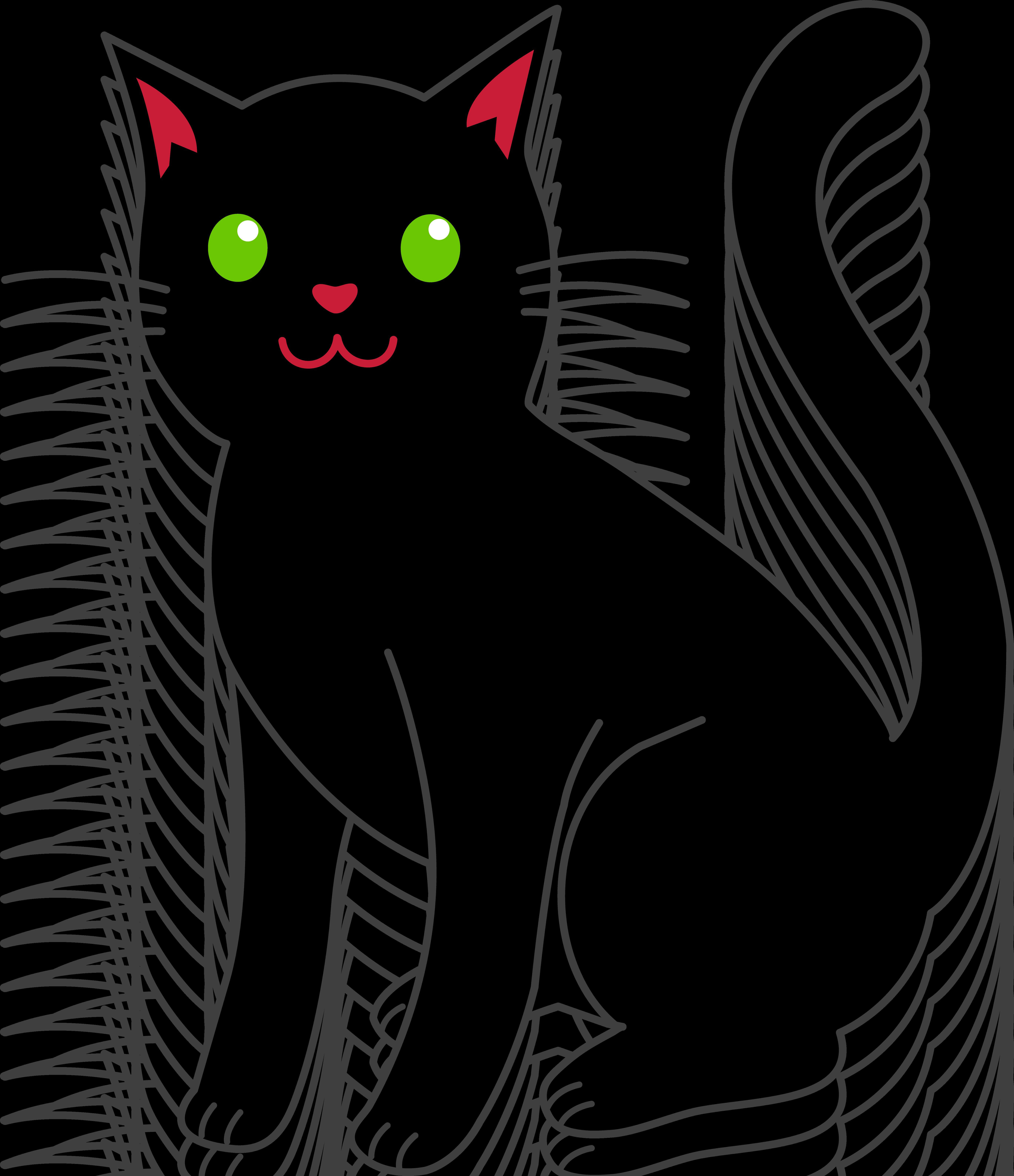 Black Cat Clip Art & Black Cat Clip Art Clip Art Images.