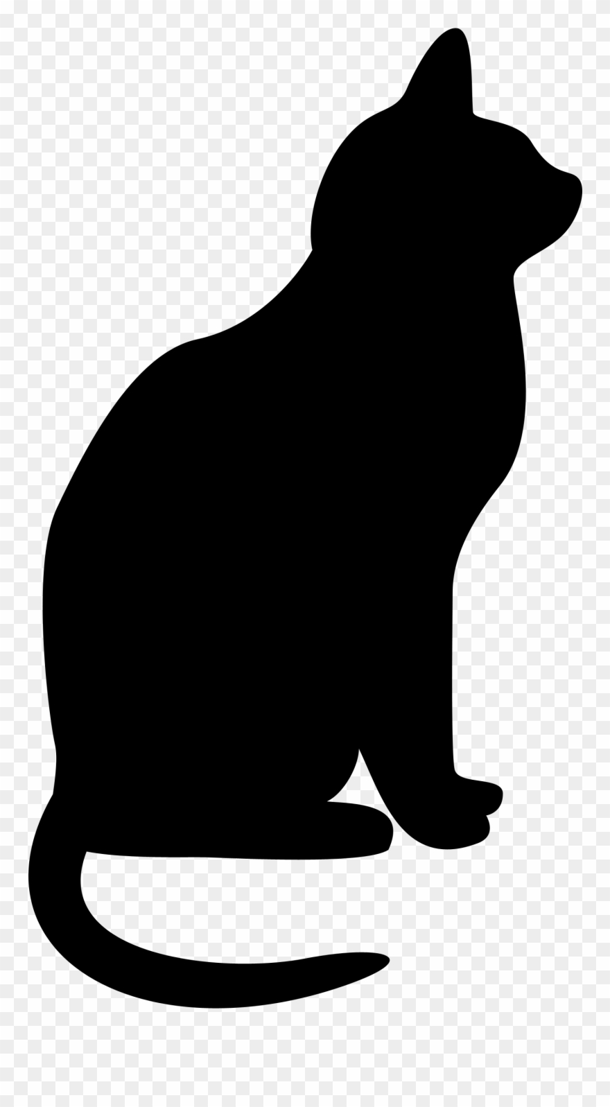 Cats Clipart Silhouette Clip Art Transparent Library.