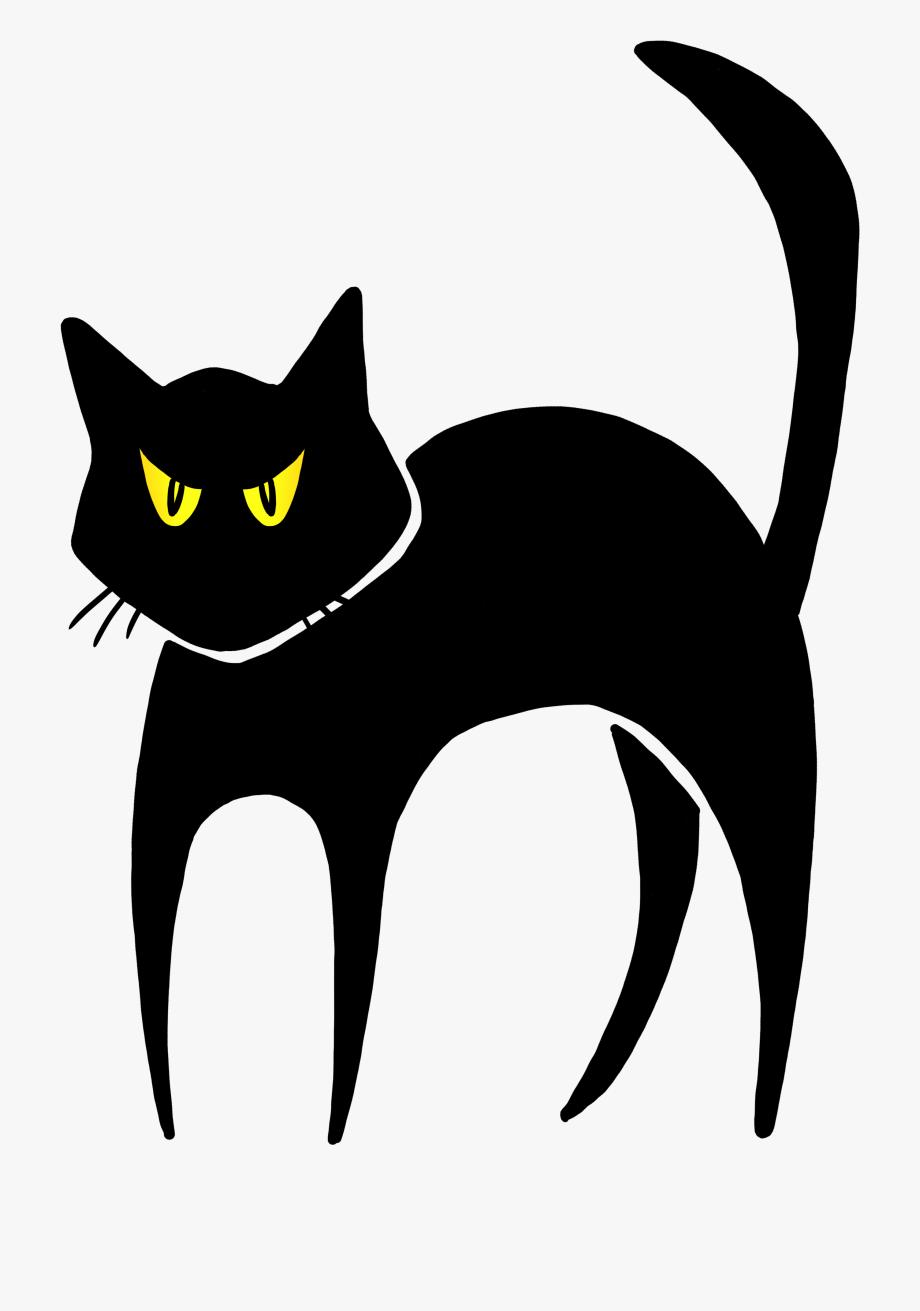 Spooky Cat Clipart.