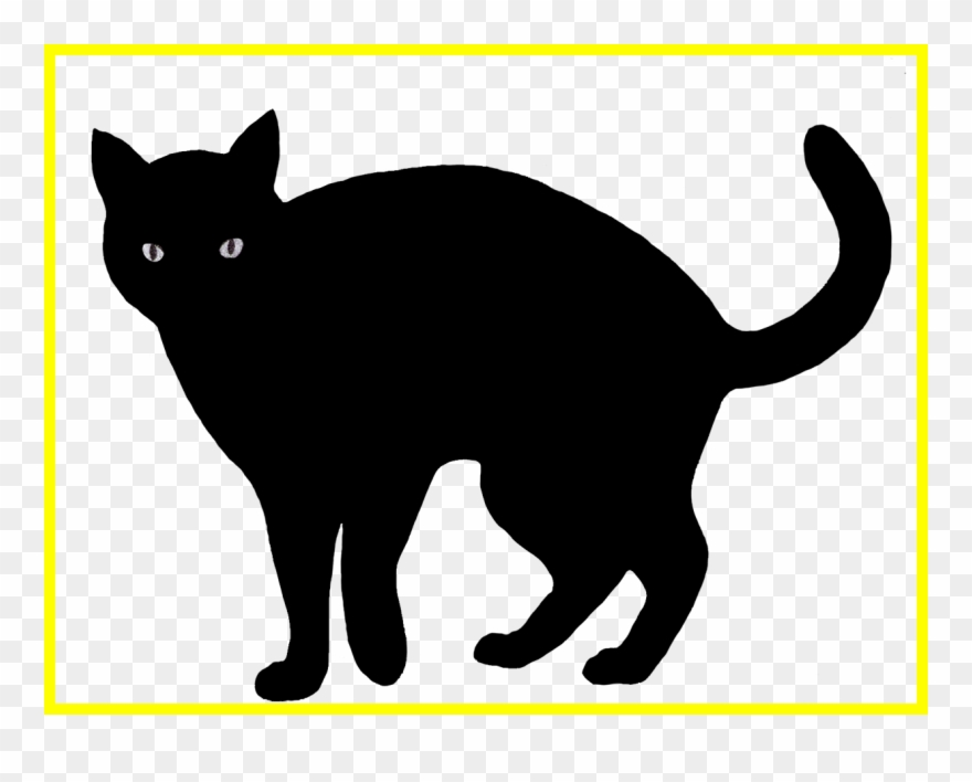 Scared Cat Clipart 7.