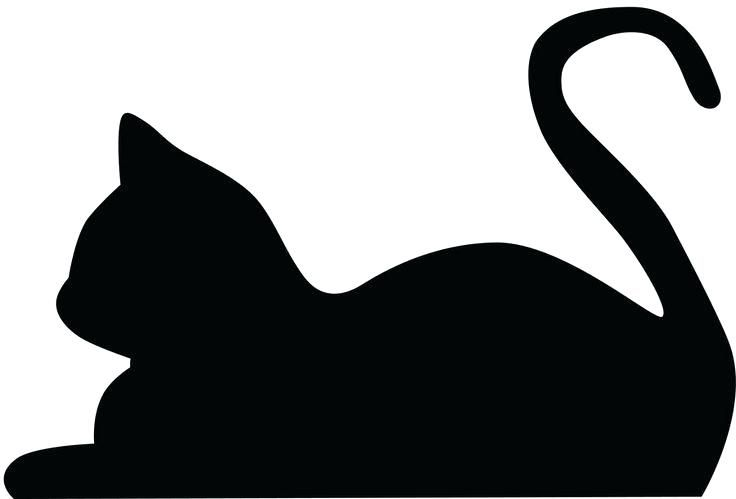 Image result for black cat face clipart.