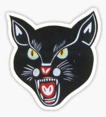 Black Cat Fireworks Stickers.