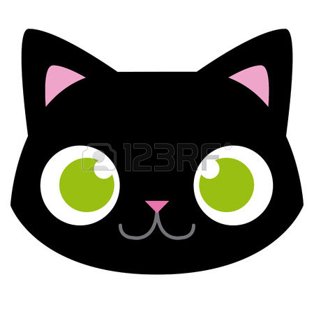 16,294 Cat Head Cliparts, Stock Vector And Royalty Free Cat Head.