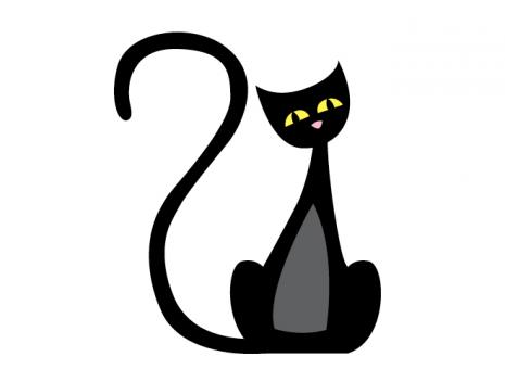 Black Cat Halloween Images.