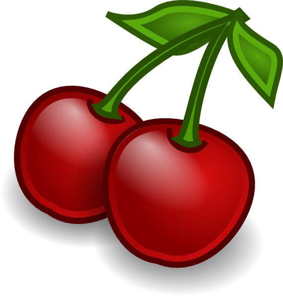 Cherry clip art designs.