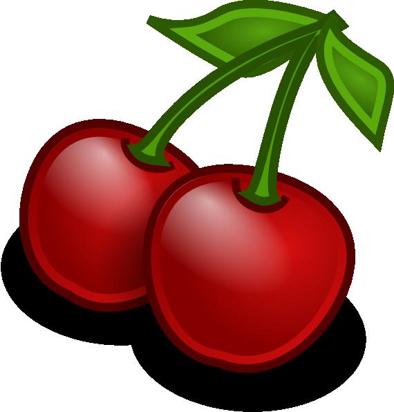 Cherry clip art designs.