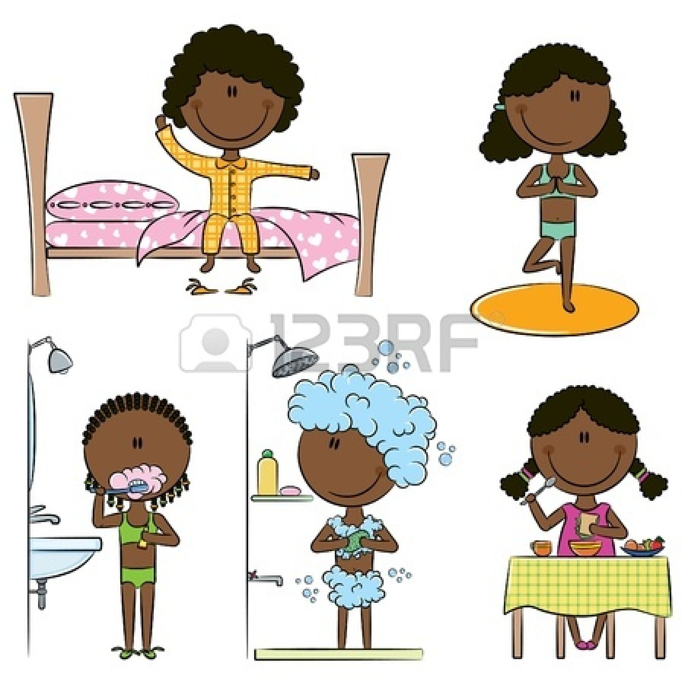 Cleaning Body Clipart.