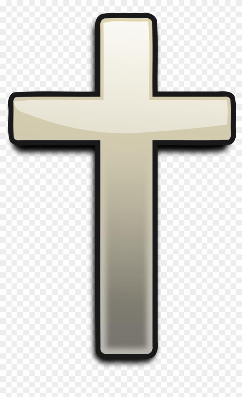 Black Christian Cross Png.