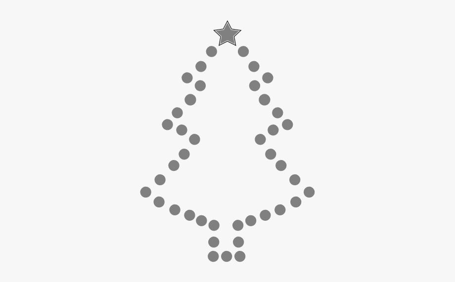 Christmas Tree Black And White Tree Cli Christmas Clipart.