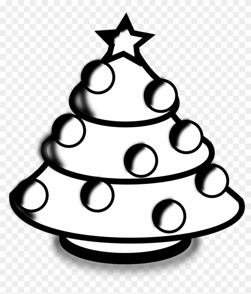Baby Nursery ~ Fascinating Christmas Tree Black And.