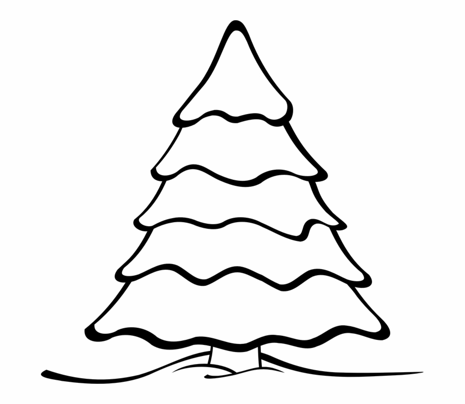 Christmas Tree Clipart Landscape.