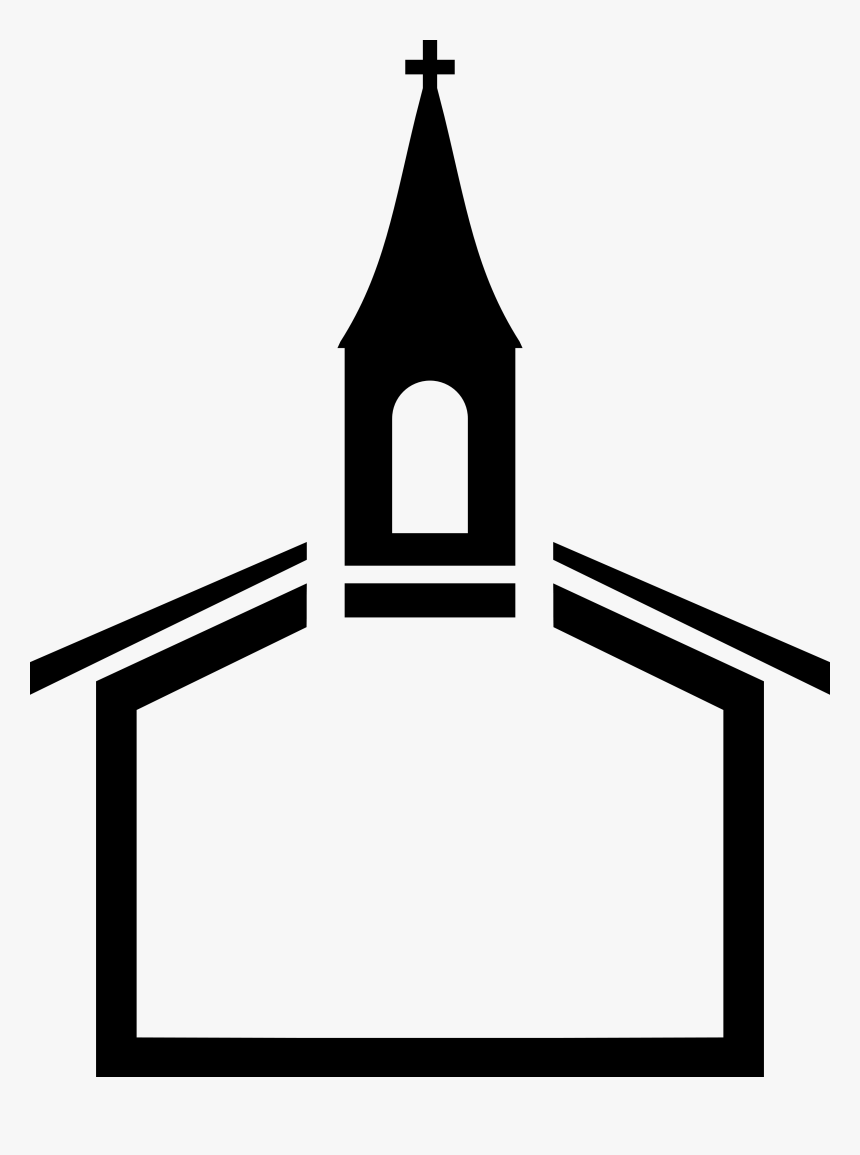 Christian Church Steeple Black Church Clip Art.