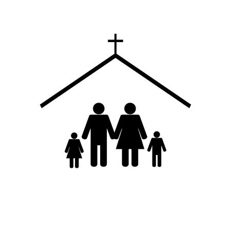 3,042 Family Church Cliparts, Stock Vector And Royalty Free Family.