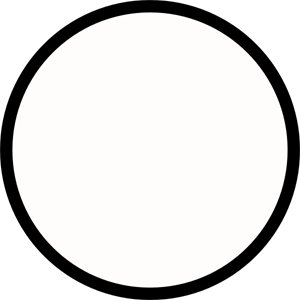 Black Circle Medium Outline PNG, SVG Clip art for Web.