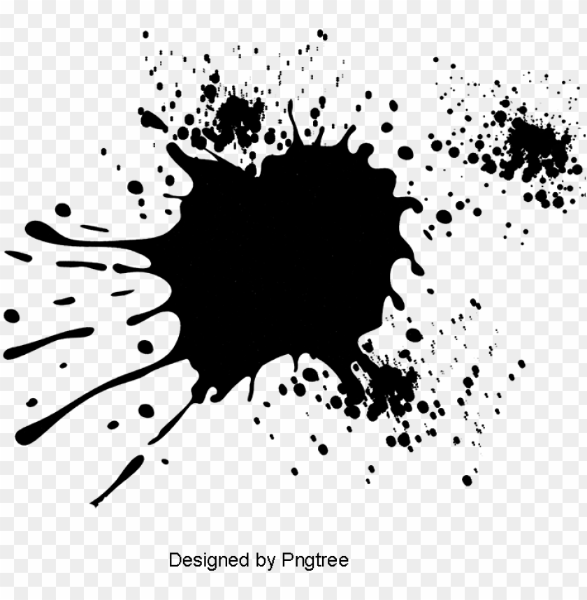 ink effect, black ink, ink, droplet png image and clipart.