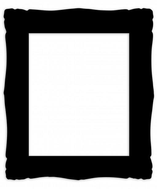 Black Frame Clipart.