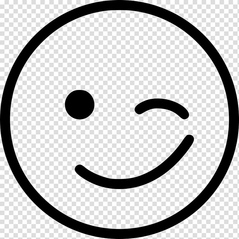 Wink Emoticon Smiley Computer Icons , happy transparent.