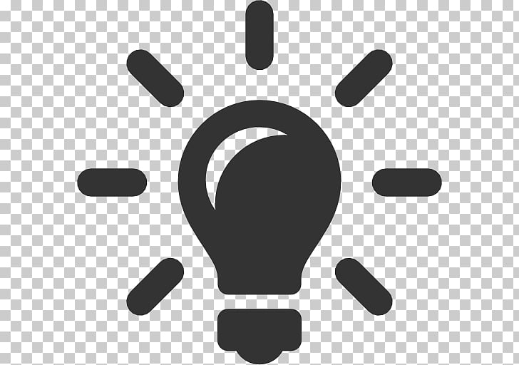 Computer Icons Idea Incandescent light bulb , Black Idea.