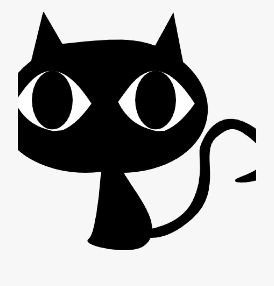 Black Clipart Black Cat Head Clipart Science Clipart.