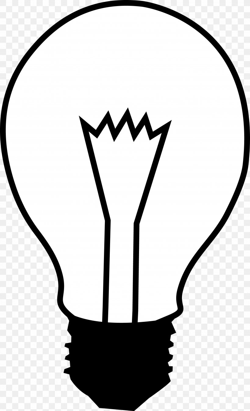 Incandescent Light Bulb Electric Light White Clip Art, PNG.