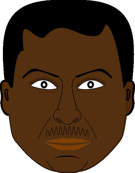 Black Man Clipart.