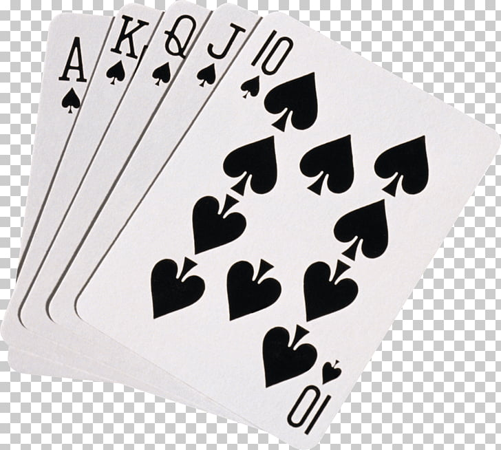Black Playing Cards, straight flush playing cards PNG.