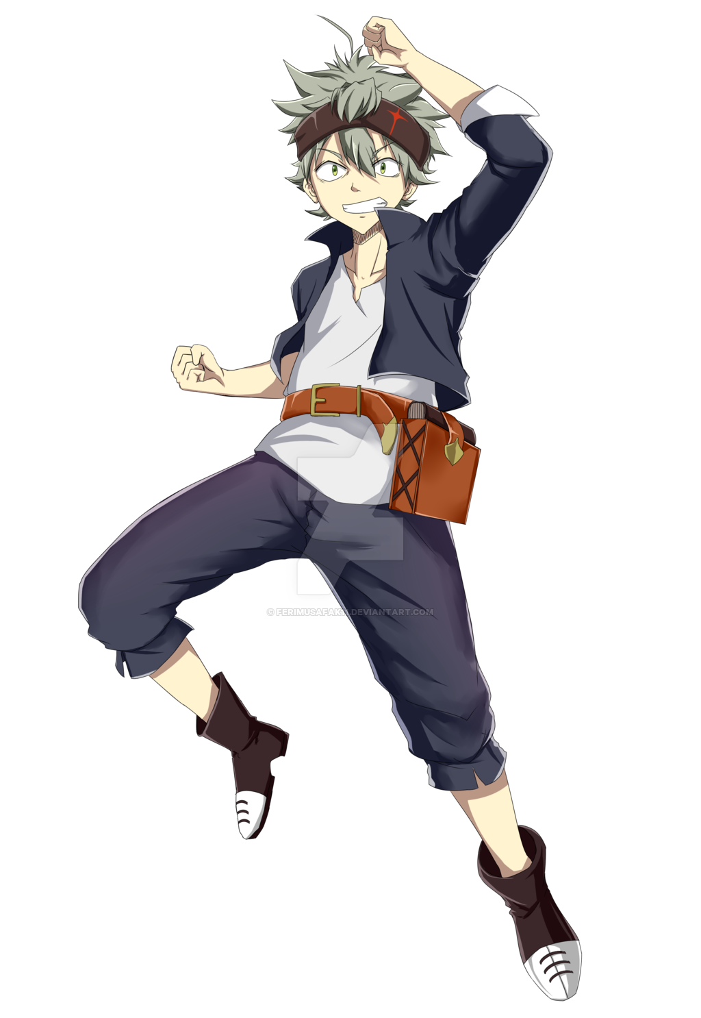 Asta Black Clover by ferimusafak11 on DeviantArt.