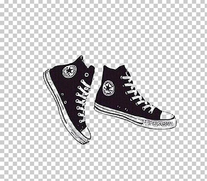 Converse Drawing Illustration Shoe PNG, Clipart, Art, Black.