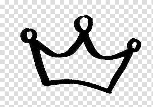 Full, black Crown icon transparent background PNG clipart.