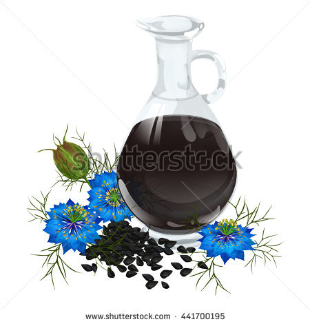 Black Cumin Flower Stock Photos, Royalty.