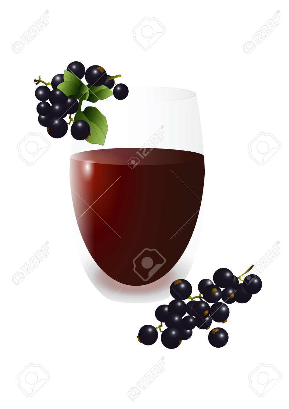 Black Currant Juice Royalty Free Cliparts, Vectors, And Stock.