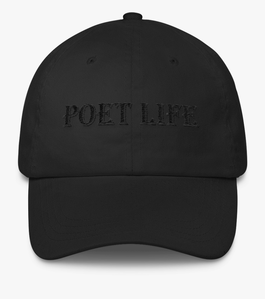 Black Dad Hat Png.