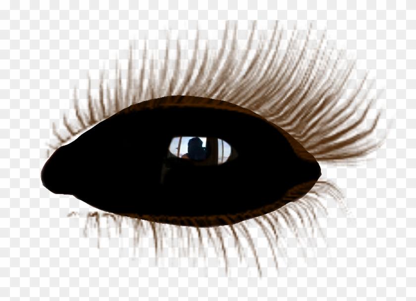 black #eye #olho #negro #demon #demônio #supernatural.