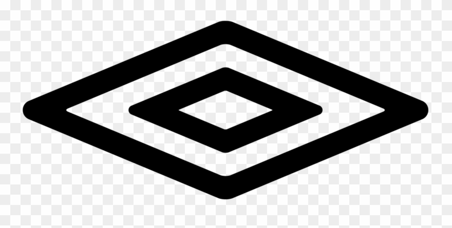 Black Diamond Shape Logo Clipart (#1710535).