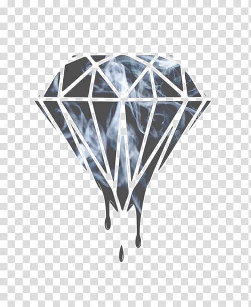 Pale s, black diamond logo transparent background PNG clipart.