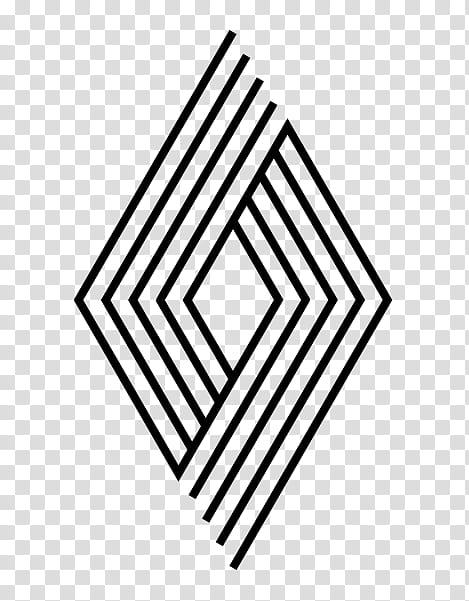 LIKES, black diamond logo transparent background PNG clipart.