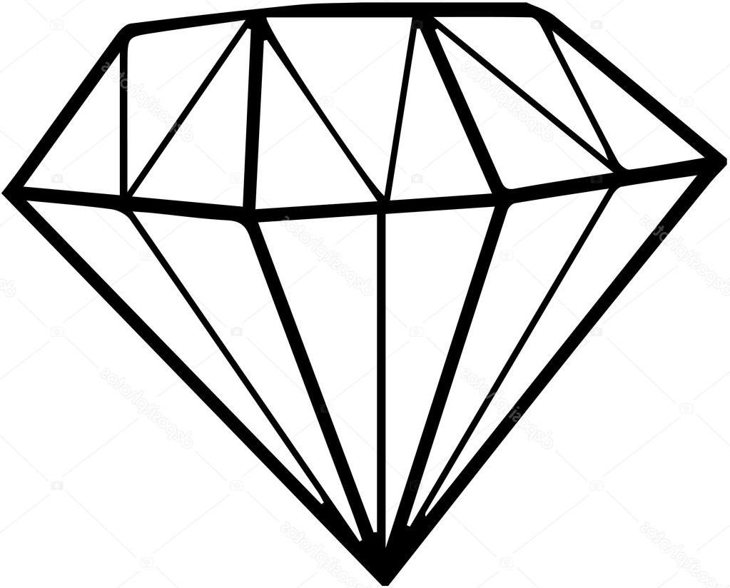 Unique Black Diamond Shape Clip Art Vector File Free » Free Vector.