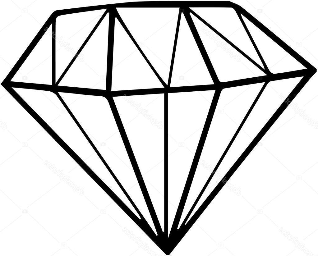 Unique Black Diamond Shape Clip Art Vector File Free » Free Vector.