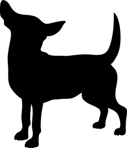 Black Dog Clip Art.