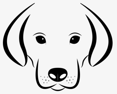 Free Black Dog Clip Art with No Background.